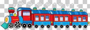 Train Rail Transport Passenger Car PNG