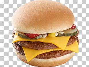 Cheeseburger Steak Burger Hamburger McDonald's Quarter Pounder McDonald's Big Mac PNG