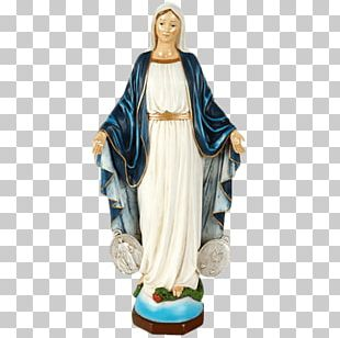 Statue Figurine Our Lady Of Guadalupe Miraculous Medal PNG