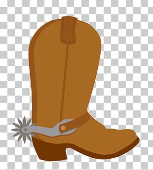 American Frontier Cowboy Boot PNG