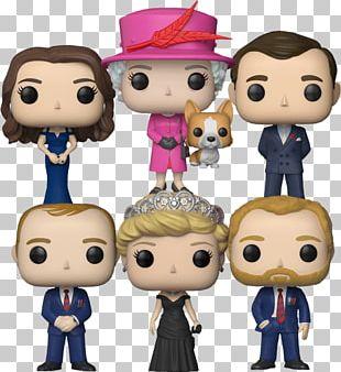 Funko Pop! Vinyl Figure British Royal Family Action & Toy Figures PNG