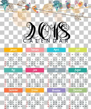 365-day Calendar New Year PNG