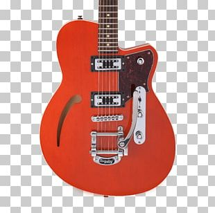 Acoustic-electric Guitar Reverend Musical Instruments Semi-acoustic Guitar PNG