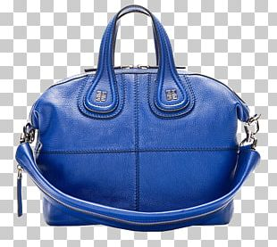 Handbag Blue Leather Messenger Bags PNG