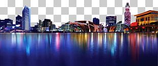 Shanghai Nightscape City PNG