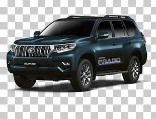 Toyota Land Cruiser Prado Car 2018 Toyota Land Cruiser Sport Utility Vehicle PNG