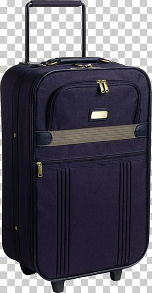 Hand Luggage Baggage Suitcase Travel PNG