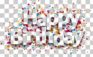 Paper Birthday Confetti PNG