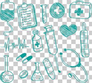 Medicine Nursing Drawing Doodle PNG