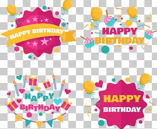 Birthday Cake Party Birthday Card PNG