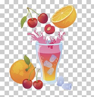 Orange Juice Cocktail Grapefruit Juice Strawberry Juice PNG