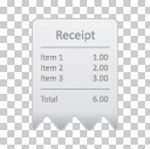 Receipt Apple App Store Point Of Sale Credit Card PNG