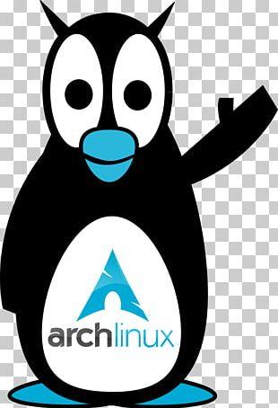 Tuxedo Penguin Arch Linux PNG