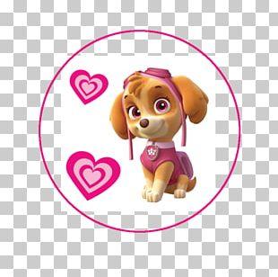 Cockapoo Puppy Paper Sticker PNG