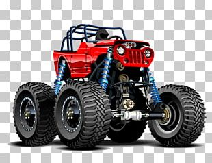 Jeep Pickup Truck Car Monster Truck PNG