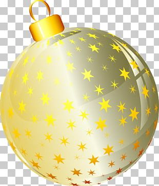 Christmas Ornament Christmas Decoration Sphere New Year Tree PNG