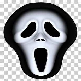 Ghostface Mask The Scream Halloween Costume PNG