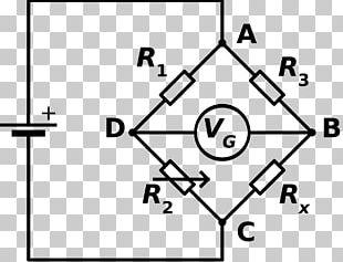 Wheatstone Bridge Bridge Circuit Electrical Network Electronic Circuit Circuit Diagram PNG