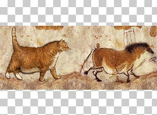 Lascaux Horse Paleolithic Cave Painting PNG