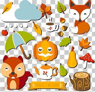Autumn Euclidean Rain Child PNG