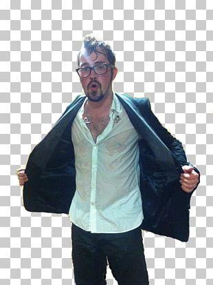 Jacket T-shirt Shoulder Microphone Outerwear PNG