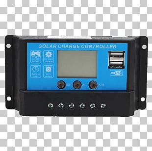 Battery Charger Battery Charge Controllers Solar Charger Maximum Power Point Tracking Solar Panels PNG