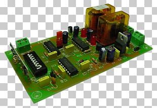 Microcontroller Electronic Engineering Electronic Component Electronics Capacitor PNG