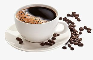 Cup Of Coffee Beans PNG