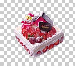 Strawberry Cream Cake Christmas Cake Mooncake Strawberry Pie PNG
