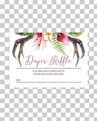 Baby Shower Diaper Infant Wedding Invitation Deer PNG