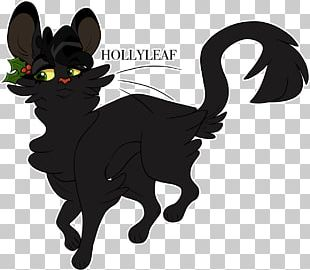 Black Cat The Sight Warriors Hollyleaf PNG