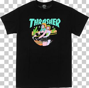 Hoodie T-shirt Thrasher Sweater Crew Neck PNG