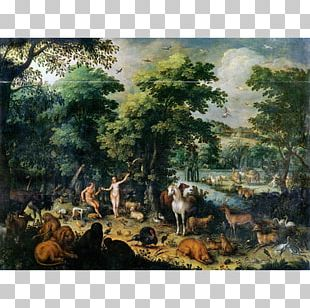 Landscape Painting Landscape With The Temptation Of Christ Painter PNG