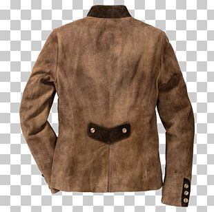 Leather Jacket Fur Clothing Coat Outerwear PNG