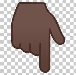Thumb Human Skin Color Index Finger Dark Skin Emoji PNG