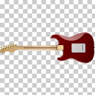 Electric Guitar Fender Stratocaster Fender Precision Bass Fender Telecaster Squier Deluxe Hot Rails Stratocaster PNG