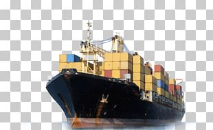Freight Transport Cargo Ship Container Ship PNG