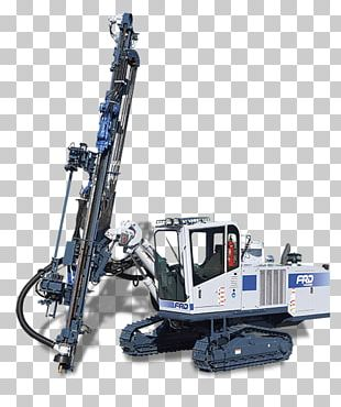 Machine Drilling And Blasting Augers Drilling Rig PNG