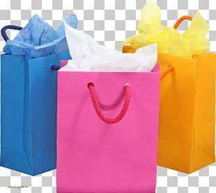 Plastic Bag Gift Box PNG