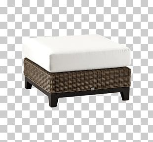 Furniture Foot Rests Garden Polyrattan Couch PNG