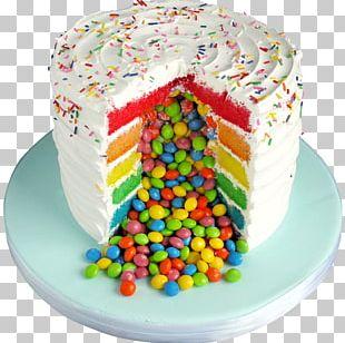 Buttercream Birthday Cake Cupcake Torte Red Velvet Cake PNG