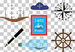 Columbus Day Symbol Icon PNG