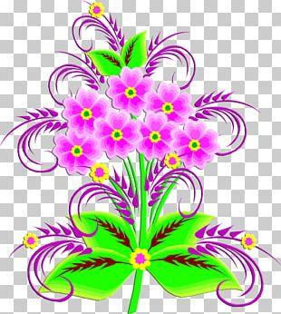 Floral Design Cut Flowers IFolder PNG