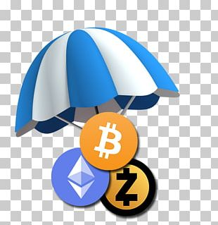 Airdrop Cryptocurrency Initial Coin Offering Steemit Blockchain PNG
