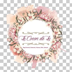 Flower Watercolor Painting Frames Wreath PNG
