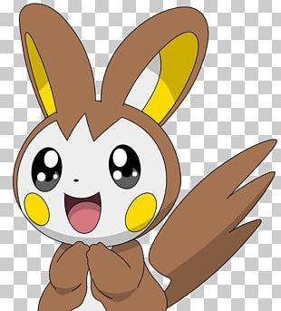 Domestic Rabbit Pachirisu Emolga Pokémon Pikachu PNG