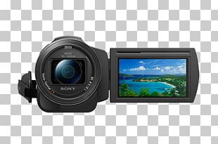 Video Sony Handycam FDR-AX33 Sony Handycam FDR-AX53 Camcorder 4K Resolution PNG