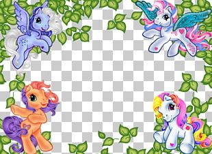 My Little Pony Party Convite Cuadro PNG