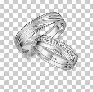 Wedding Ring Jewellery Białe Złoto Engagement Ring PNG