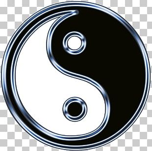 Yin And Yang Symbol I Ching Taoism Chinese Dragon PNG